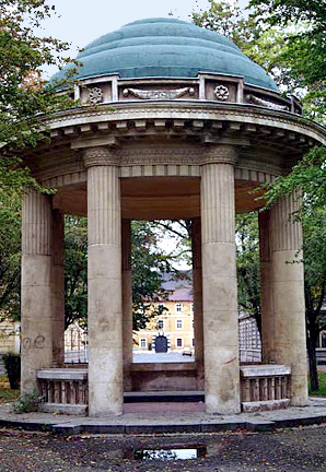 My photo of the Gazebo in Brunnen Park in Theresienstadt