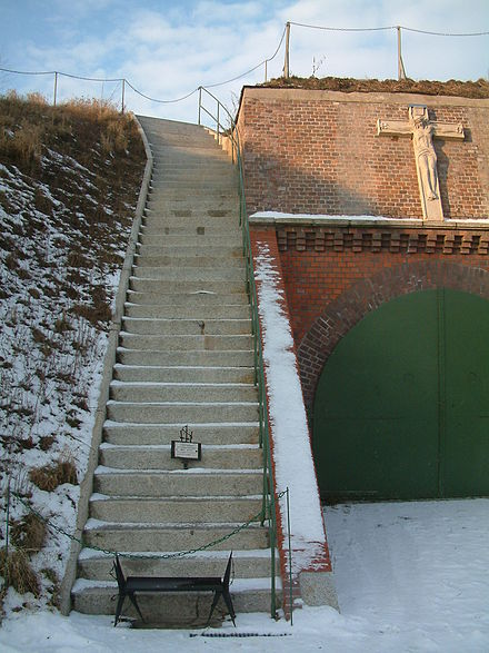 Stairs of Death at Posen concentration camp