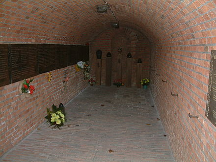 Gas chamber at Fort VII (photo from Wikipedia page)