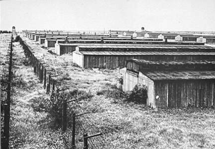 Most of the barracks at Majdanek have now been torn down
