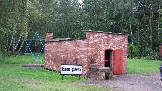 The gas chamber at the Stutthof camp was in this small building