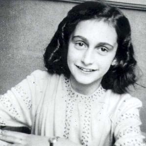 Anne Frank at age 13