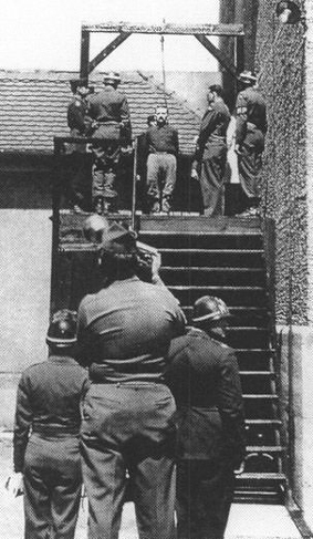 Otto Moll was one of the prisoners who was hanged at Landsberg, where the gallows faced the former prison cell of Adolf Hitler