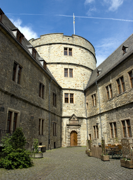 My photo of the North Tower at Wewelsburg castle