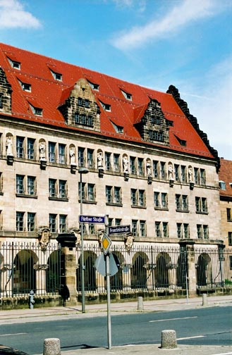 My photo of the Nuremberg Palace of Justice where the war crimes trials were held