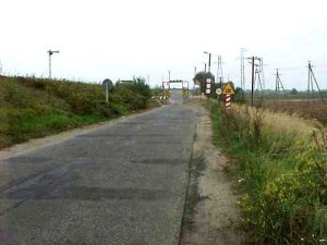 The road to Treblinka which is way out in the boondocks