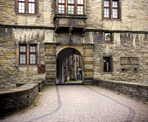 My May 2008 photo of the entrance to Wewelsburg
