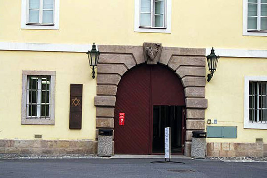The building where Benjamin Murmelstein worked at Theresienstadt