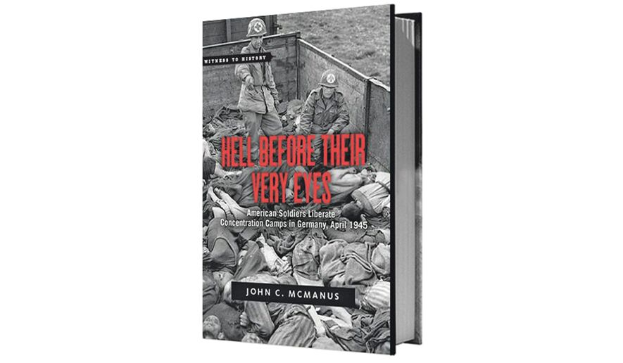 Cover of new book about the liberation of Dachau