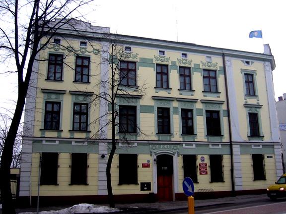 Auschwitz town hall
