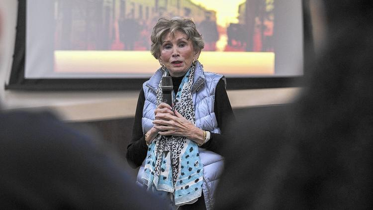 Holocaust Survivor who is still out speaking to American students