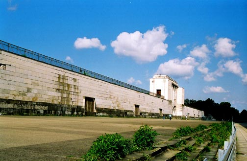 The Zeppelin field as it looked in 1995