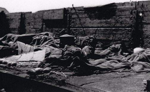 "Dead bodies on the ""train of Death'"