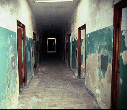 Catholic priests had private cells in the Dachau bunker