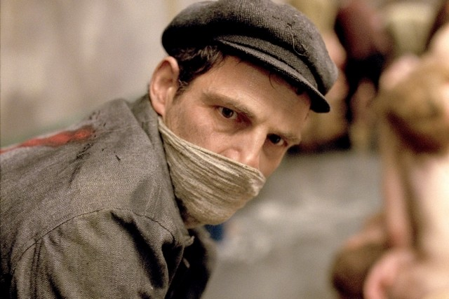 Scene from Son of Saul movie