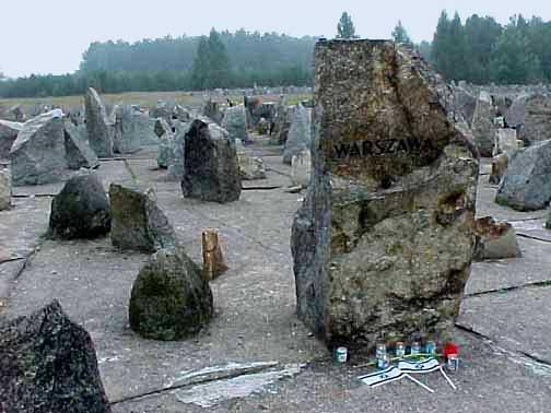 Symbolic cemetery in Treblinka