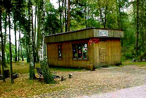 Bistro inside the Treblinka camp