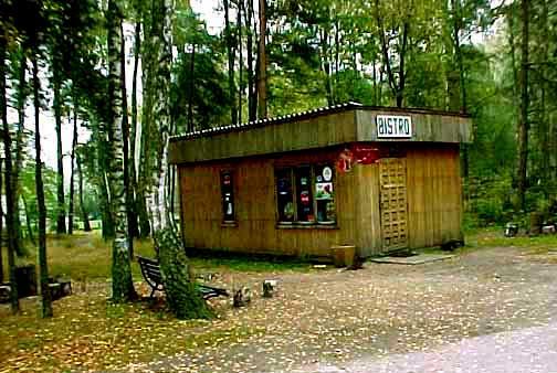 Bistro inside the Treblinka camp