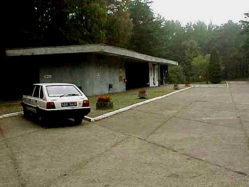 Tourist center at Treblinka in 1998