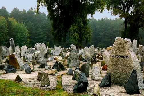 Symbolic cemetery at Treblinka