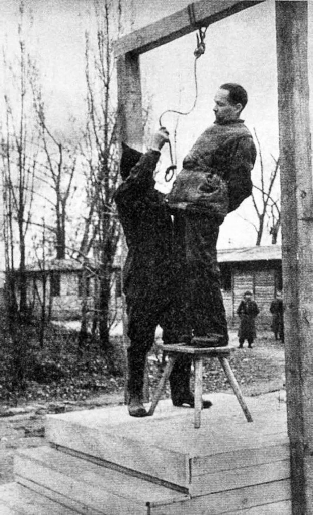 Rudolf Hoess was hanged near the gas chamber in the main Auschwitz camp
