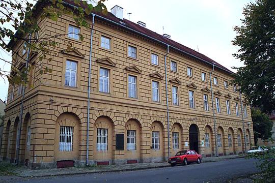 The horrible building where little Inge was forced to live