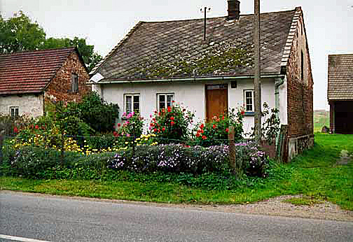 My 1998 photo of a charming house in Poland