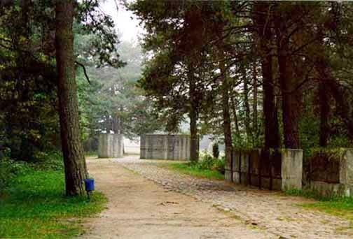 Entrance into Treblinka memorial site