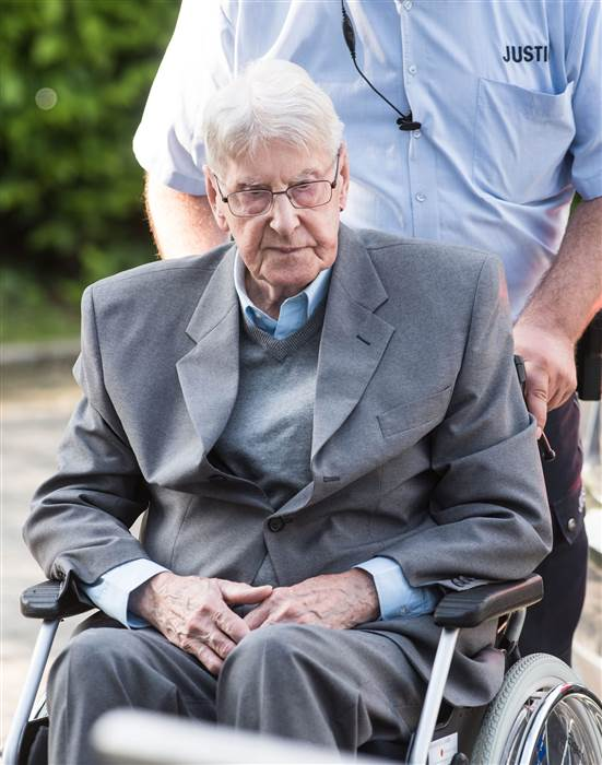 Depraved German war Criminal Reinold Hanning