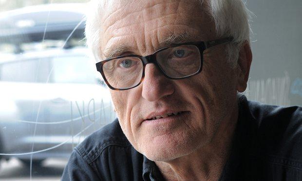 Princeton professor Jan Tomasz Gross speaks in Warsaw on Wednesday. Photograph: Alik Kęplicz/AP
