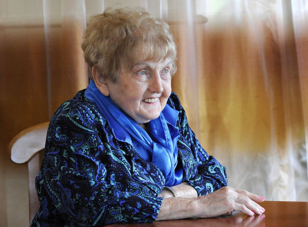 Recent photo of Eva Moses Kor