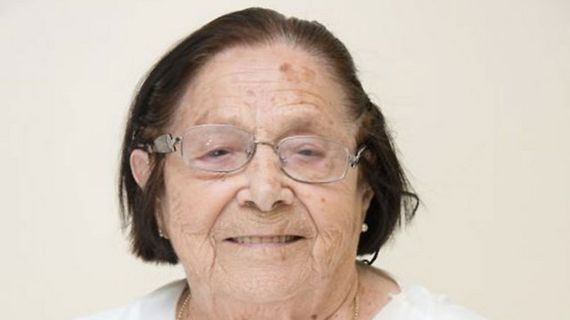 Holocaust survivor Sara Cain