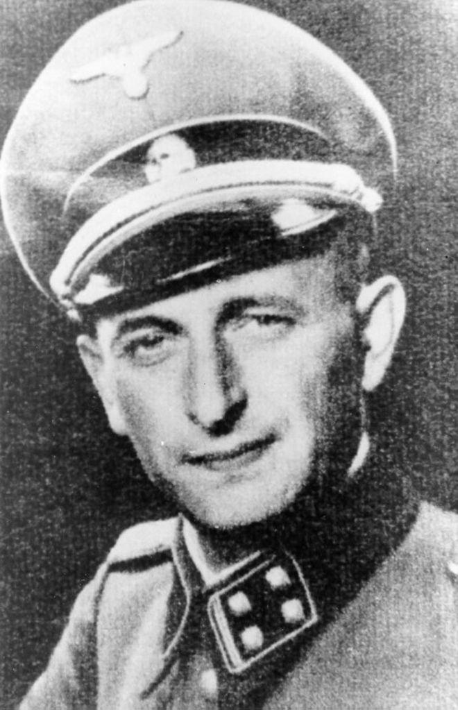 Adolf Eichmann before his trial