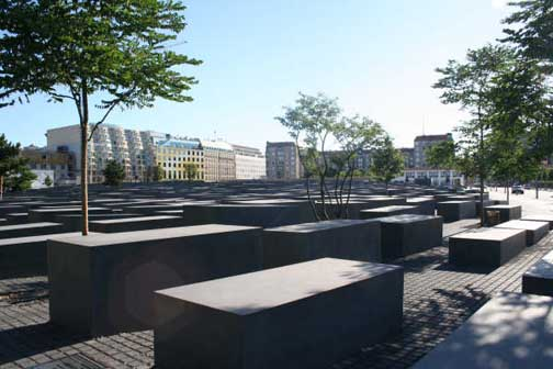 2006 photo of Berlin memorial to Jews Photo credit: Bonnie M. Harris