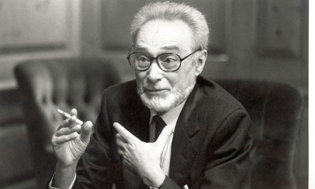 Primo Levi as an older man