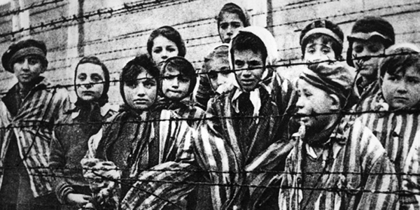 Auschwitz photo has been enhanced to make it look more incriminating