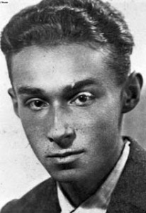 Primo Levi as a young man