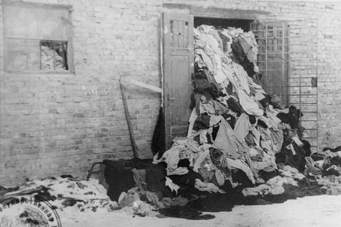 Clothing warehouse at Birkeanu