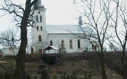 The Chelmno Catholic church where the victms spent their last night