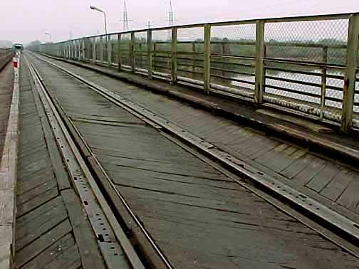 Bridge over the Bug river on the way to Treblinka