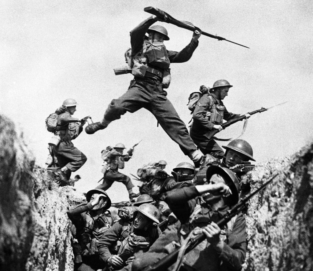 American soldiers in World War II