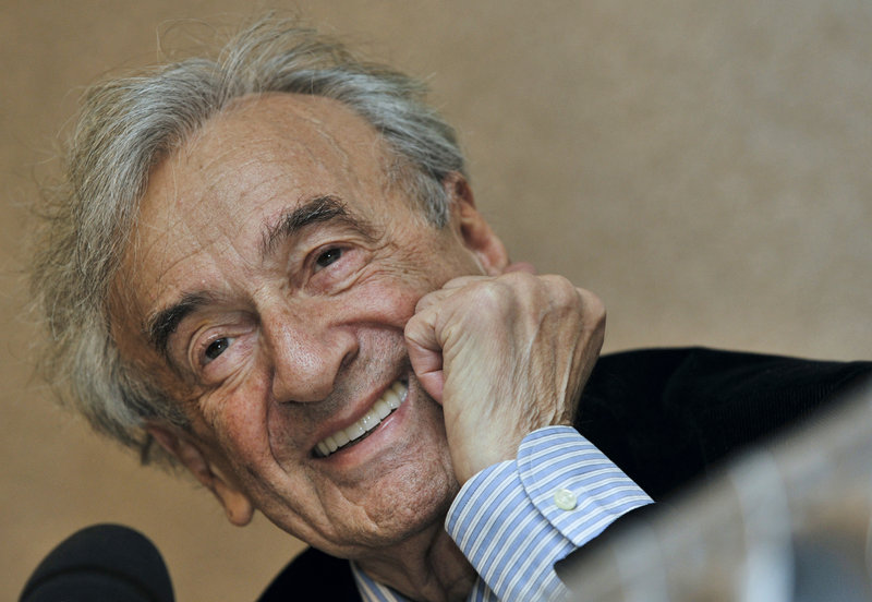 2009 photo of Elie Wiesel