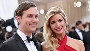 Donald Trump's son-in-law with his dauthter
