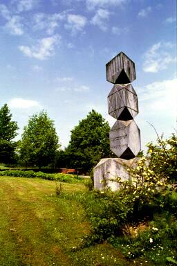 Memorial stone for Jews in Dachau cemetery