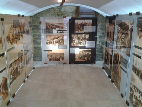 the celler of the house is now a museum