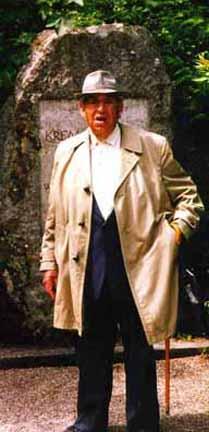 My 1997 photo of Martin Zaidenstadt