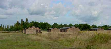 Barracks in Special Camp No. 7