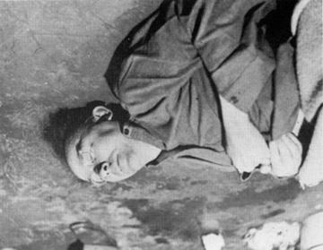 Photo of Himmler lying dead