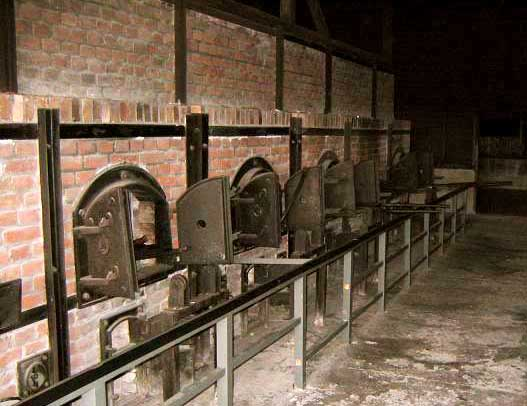 The back side of the Majdanek ovens Photo Credit: Simon Robertson