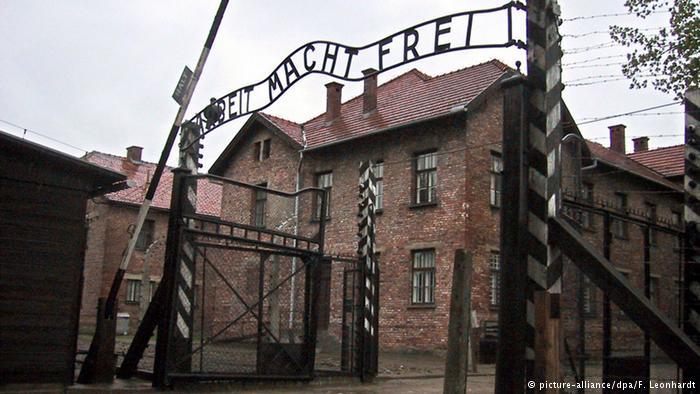 Arbeit macht Frei gate at Auschwitz main camp